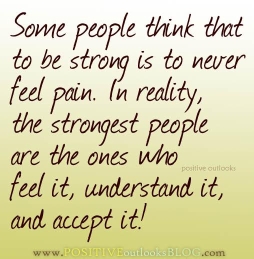 Feel pain