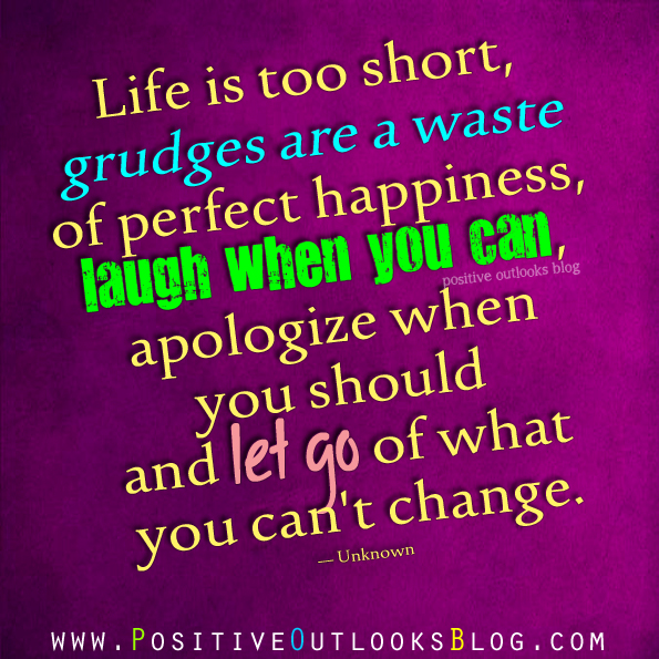 Life Is Too Short Quotes And Sayings: Grudge Quotes On Pinterest