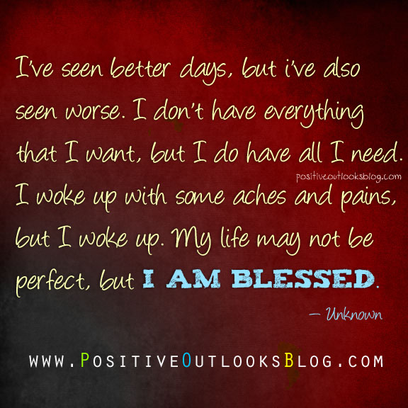 i am blessed quotes - photo #7