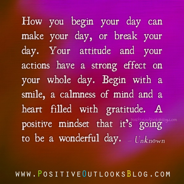 a beautiful day begins with a beautiful mindset quote - photo #13