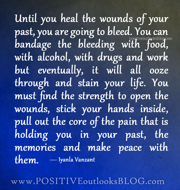 Until the wounds of your past