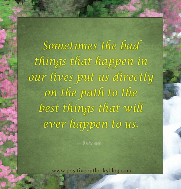 sometimes the bad