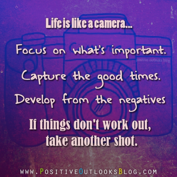 Quotes About Whats Important In Life Awesome Positive Outlooks Blog  A Sanctuary To Promote Positive Thinking