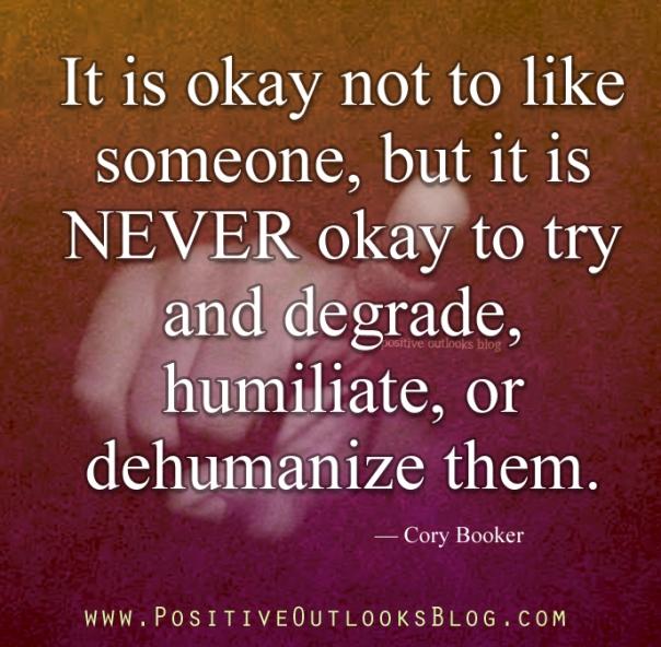 never ok