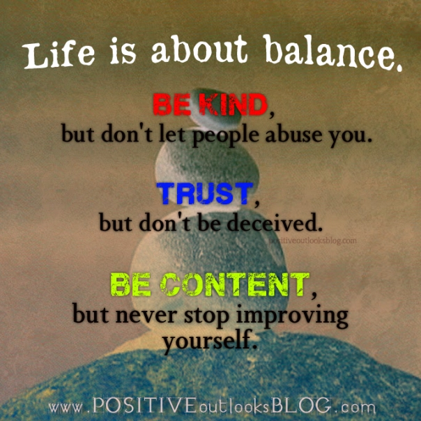 Balanced Life Quotes: G Jewelry: Keeping The Peace