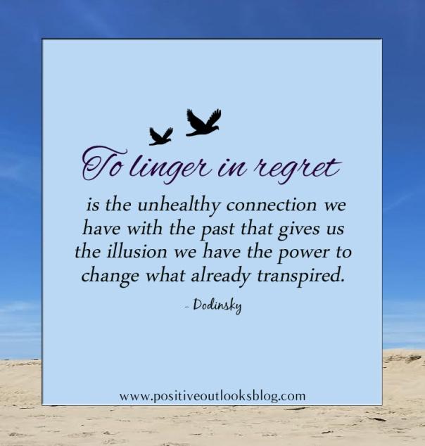 to linger in regret