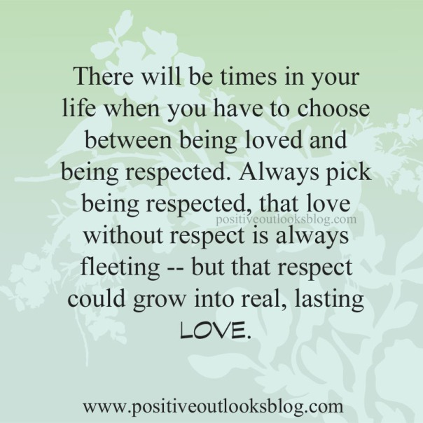 choose respected