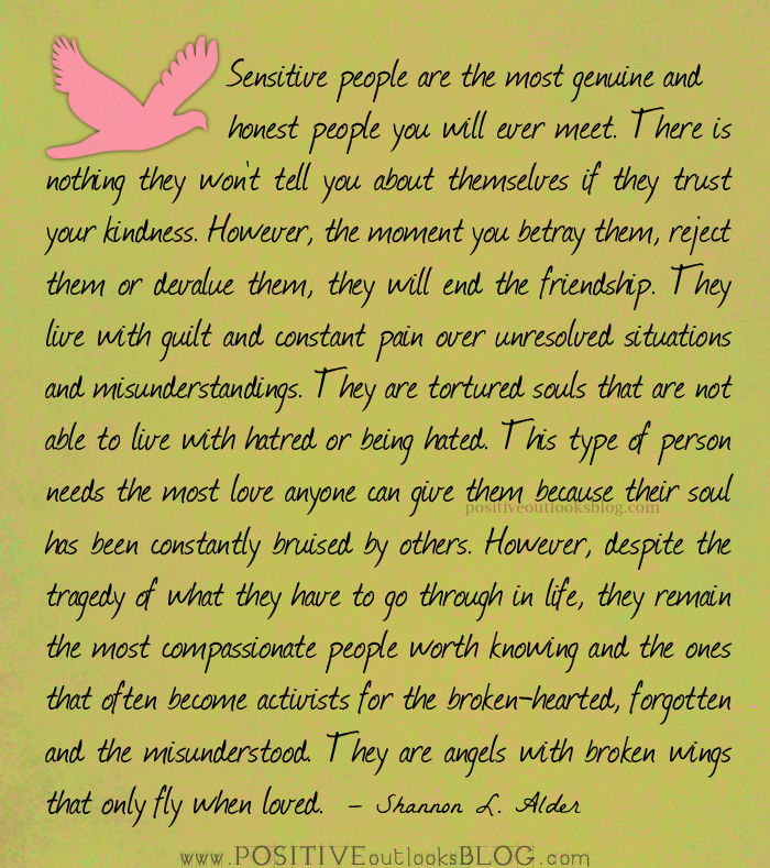 Quotes About Sensitive People