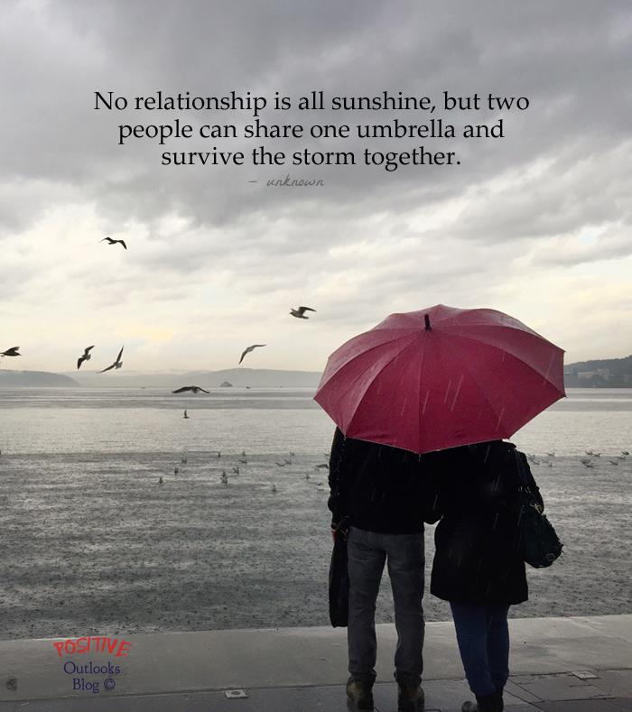 Surviving The Storm Together | Positive Outlooks Blog