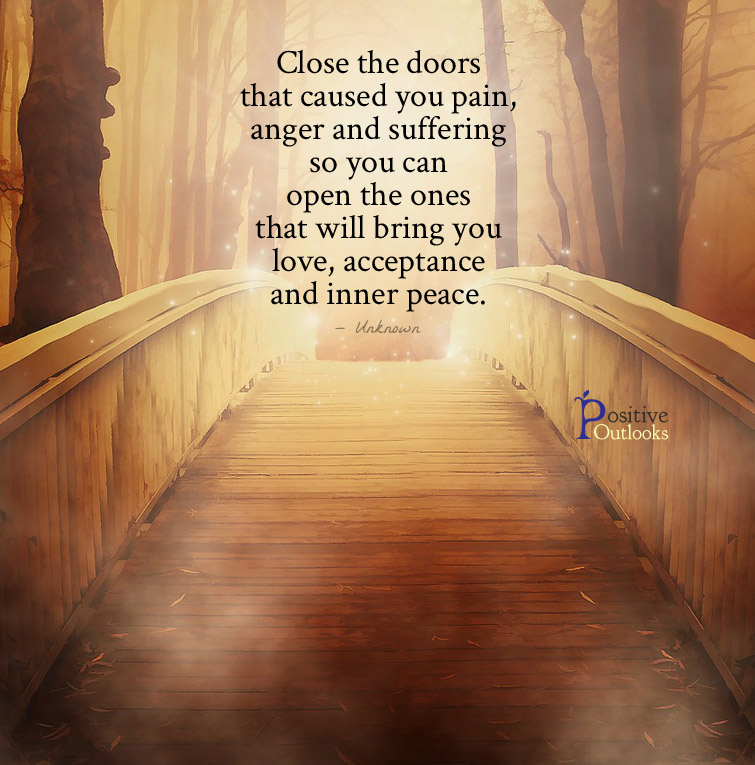 Close the doors & Positive Outlooks