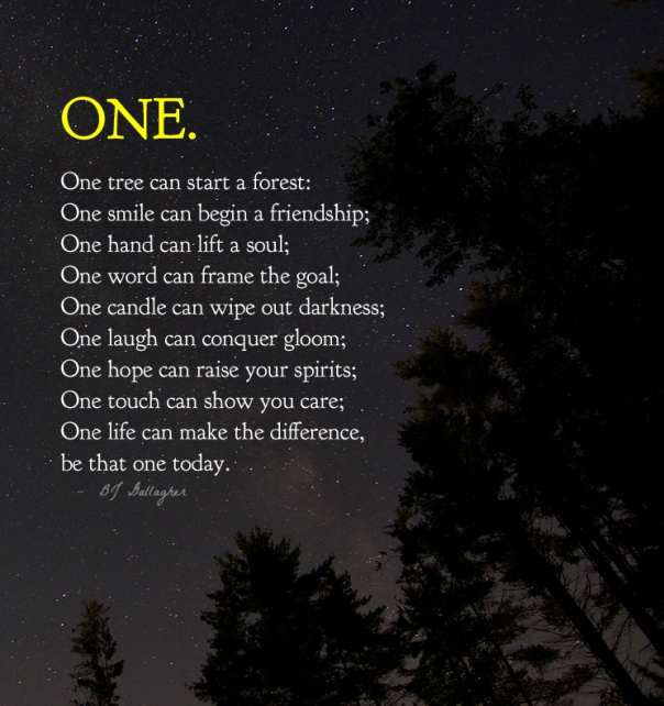 one..