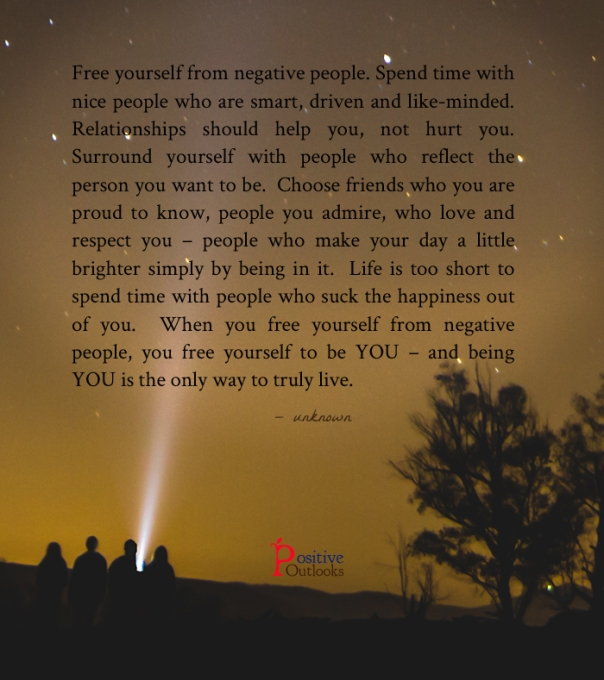 Free Yourself From Negative People Quote: (Offer Expires On June 16